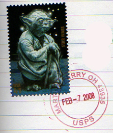 A date stamp from our trip.
