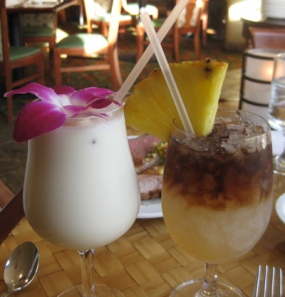 fancy drinks in hawaii