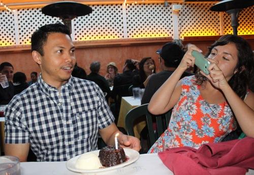 Leo's birthday cake