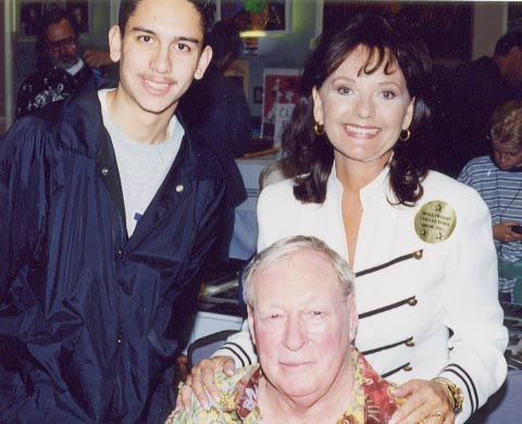 Jeff with Dawn Wells & Russell Johnson